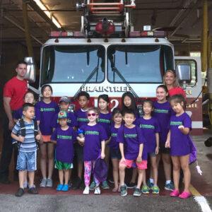 Kiddosland field trip to the braintree fire station