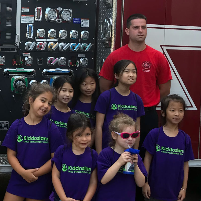 Field trip to the braintree fire department
